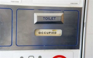 plane toilet