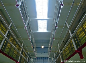 A view of the Cell Block