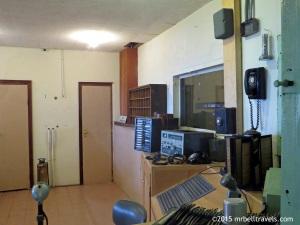 Prison control room