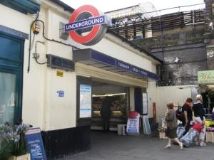Turnham Green Underground Station