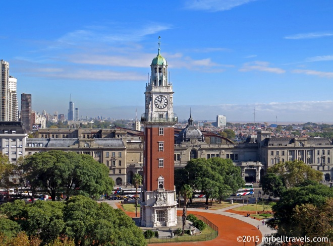 Torre Monumental or Torre de los Ingleses