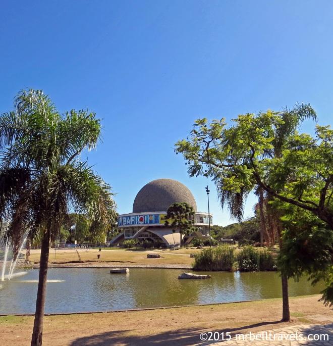 Galileo Galilei Planetarium in Parque Tres de Febrero