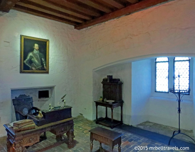 A reconstruction of Sir Walter Ralegh's room