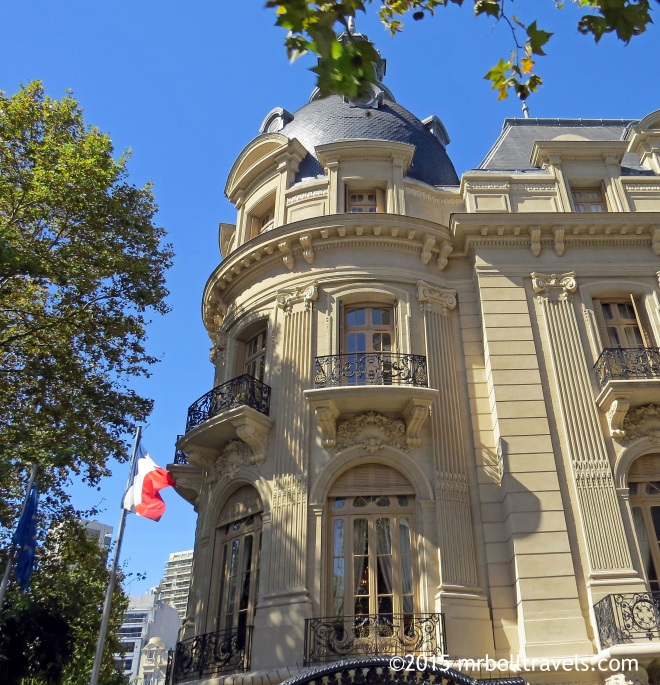 The stunning French Embassy in Buenos Aires