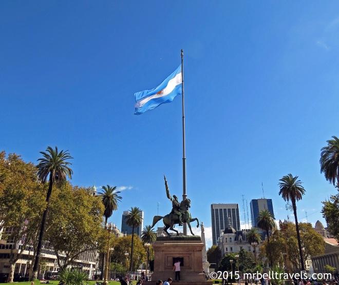 Equestrian Monument to General Manuel Belgrano