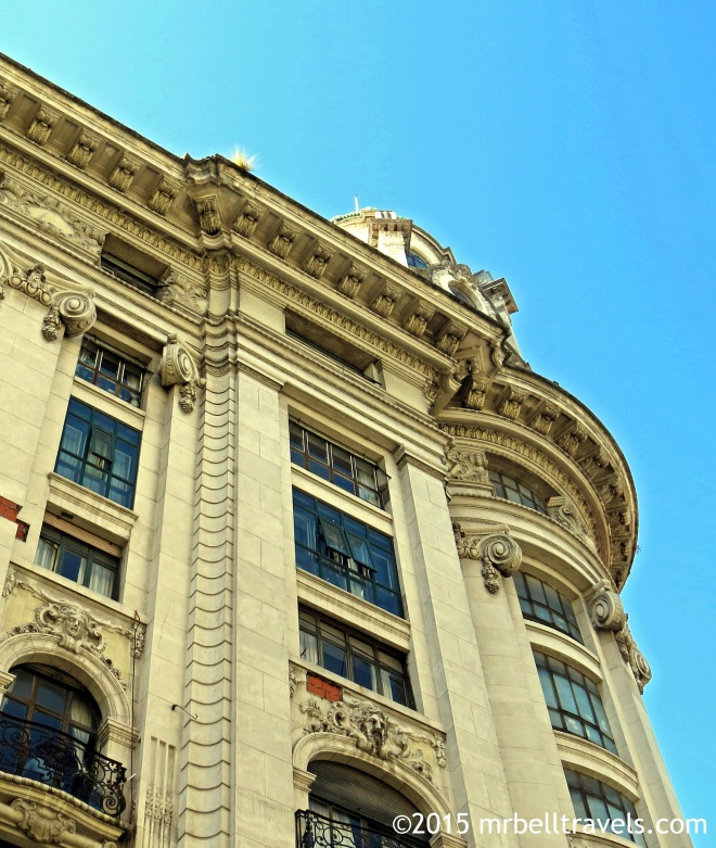 Some of Buenos Aires's beautiful architecture
