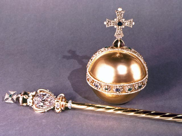 The Scepter & Orbe