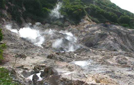 St Lucia Volcano
