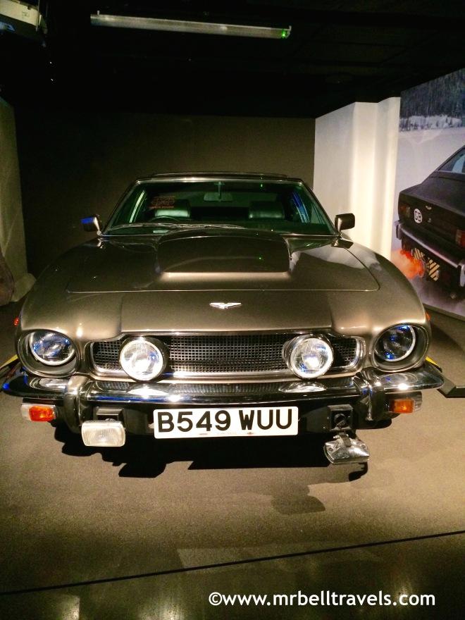 Aston Martin V8 The Living Daylights 1987